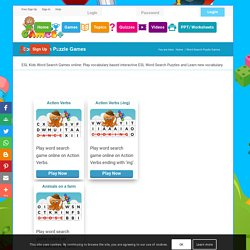 Word Search Puzzle Games