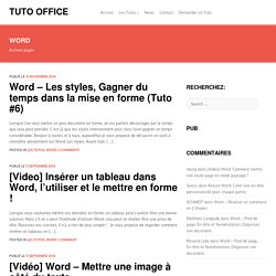 Word - Tuto Office