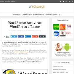 WordFence un Antivirus WordPress Efficace