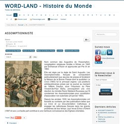Wordland - Histoire du Monde - ASSOMPTIONNISTE