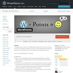 WordPoints — WordPress Plugins