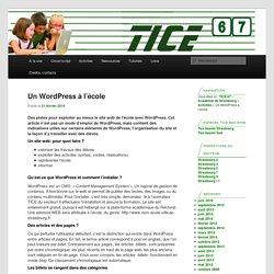 TICE 67 – Académie de Strasbourg
