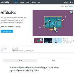 WordPress Affiliates Plugin