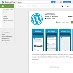 WordPress - Android Market