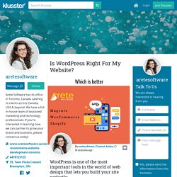 Is WordPress Right For My Website?