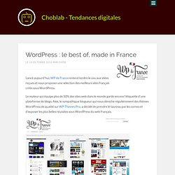 WordPress : le best of, made in France
