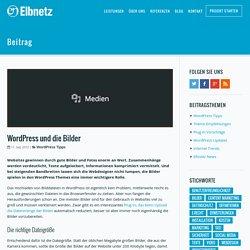 WordPress und die Bilder · Elbnetz Blog