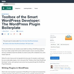 WP plugin boilerplate code.tutsplus