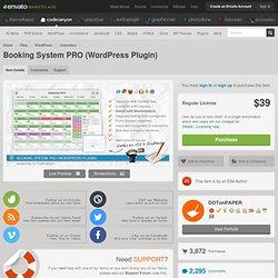 Booking System PRO (WordPress Plugin)
