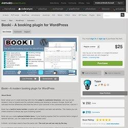 Booki - A booking plugin for WordPress