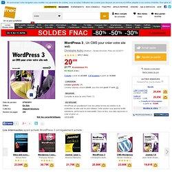 WordPress 3, Christophe Aubry tous les livres à la Fnac