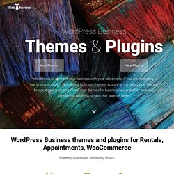 Business WordPress Themes - BizzThemes