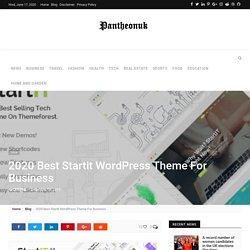Best Startup Theme For WordPress