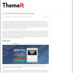 business themes for wordpress