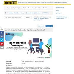 Hire the Best WordPress Development Company in India