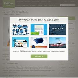 Maxene - Wordpress Theme ~ WordPress Commerce Themes on Creative Market