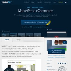 WordPress MarketPress Plugin - WPMU Dev