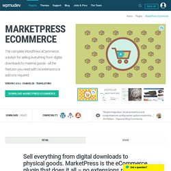 WordPress E-Commerce Plugin - MarketPress by WPMU DEV
