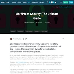Keeping WordPress Secure - The Complete Guide to WP Security
