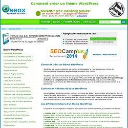 Créer Un Thème WordPress : Création Template Blog : Guide - Tutoriel - Cours