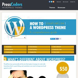 WordPress Theme Customization Guide