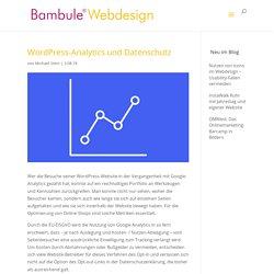 WordPress-Analytics und Datenschutz › Bambule Webdesign