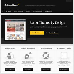 Premium WordPress Themes by DesignerThemes.com