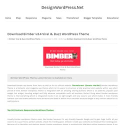 Download Bimber WordPress Theme - High Performance WordPress Theme Download