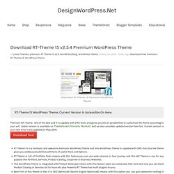 wordpress theme download premium