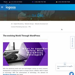 Hire Expert WordPress Developer for ultimate web design