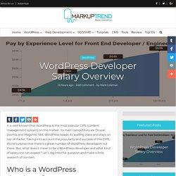 WordPress Developer Salary Overview