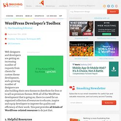WordPress Developer's Toolbox - Smashing WordPress