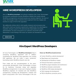 Hire WordPress Developers - Hire Dedicated WordPress Expert, Hire WordPress Designers