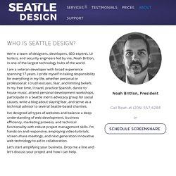 About WordPress Developers - Seattle Design.biz