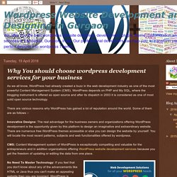 Why You should choose wordpress development services for your business