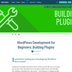 WordPress Development for Beginners: Building Plugins