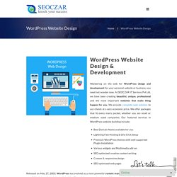 WordPress Website Designing & Development Company