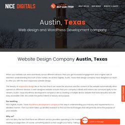 WordPress Development Company Austin, Texas