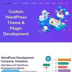 WordPress Development Company Vadodara: WP Theme, Plugin Developer