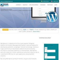 Wordpress Website Design Development Company in India