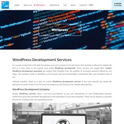 Wordpress Website Development Services, Company, Agency