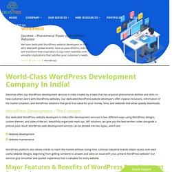 WordPress Development Company India