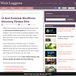 28+ Best Premium WordPress Directory Themes Collection 2013