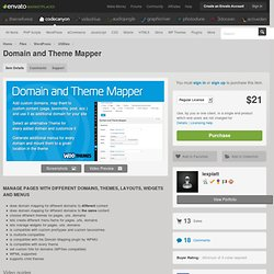 Domain and Theme Mapper