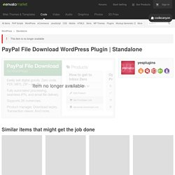 PayPal File Download WordPress Plugin