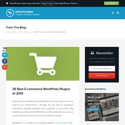 20 Best WordPress Ecommerce Plugins
