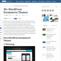 30+ Free & Premium Wordpress Ecommerce Themes