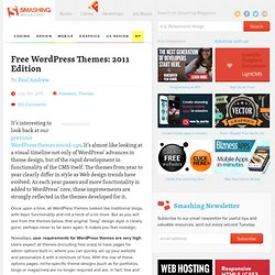 Free WordPress Themes: 2011 Edition - Smashing WordPress