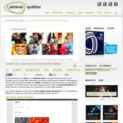 10 plugin Wordpress per creare fantastici effetti immagine