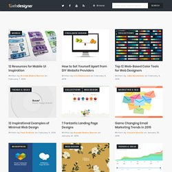 1stwebdesigner - Graphic and Web Design Blog - Inspiration, Resources ...